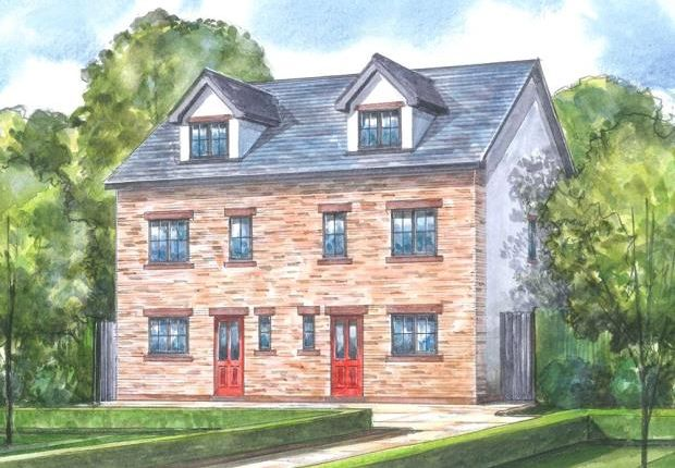 Thumbnail Semi-detached house for sale in Plot 13 & 14 The Eamont, St. Cuthberts, Off King Street, Wigton