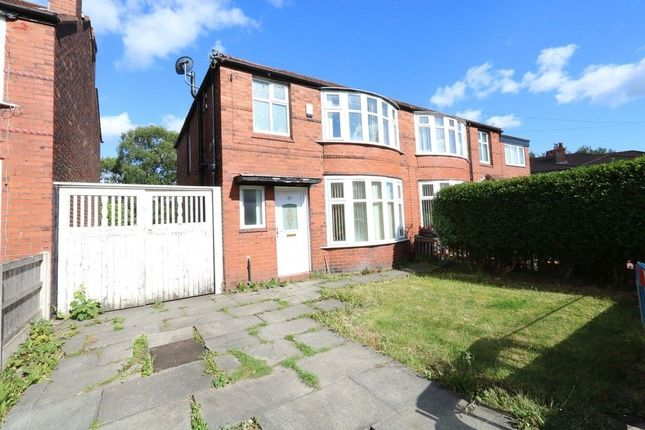 Thumbnail Semi-detached house for sale in Ashdene Road, Withington