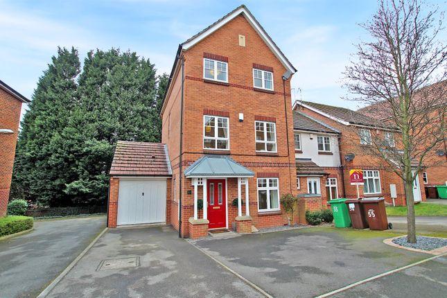Thumbnail Town house for sale in Sheridan Way, Sherwood, Nottingham
