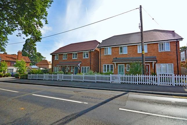 Thumbnail Semi-detached house to rent in Orchard Drive, Liphook Road, Lindford, Bordon