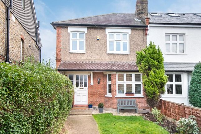 Thumbnail Semi-detached house to rent in Cobham Road, Norbiton, Kingston Upon Thames