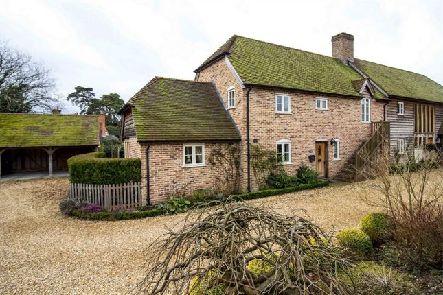 Thumbnail Semi-detached house for sale in Hook Road, North Warnborough, Hook