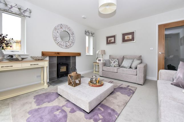 Thumbnail Detached bungalow for sale in Hanning Road, Horton, Ilminster