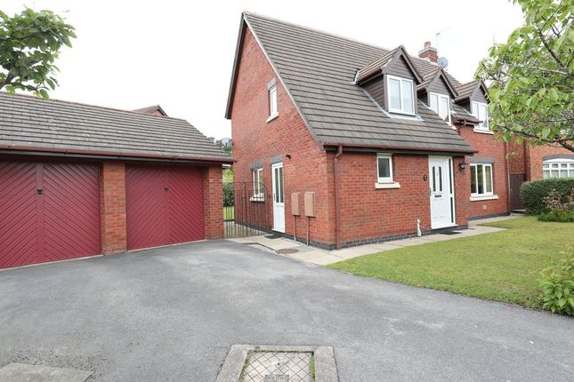 Thumbnail Detached house for sale in Ennerdale Drive, Congleton, Cheshire