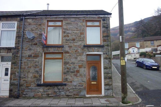 Thumbnail End terrace house to rent in Tynybedw Street, Treorchy