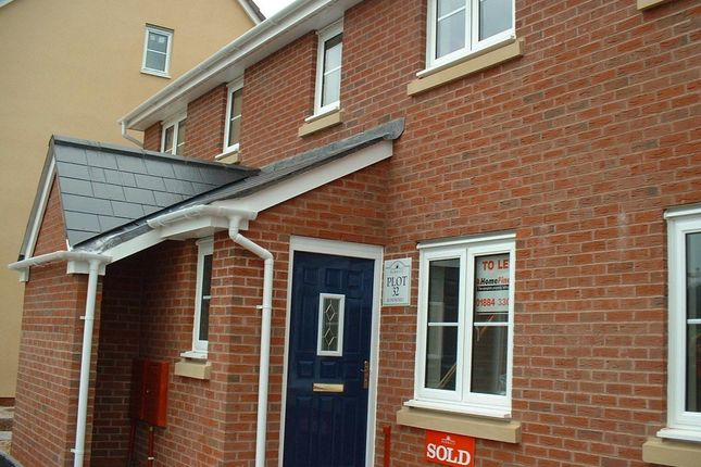 Thumbnail Terraced house to rent in Oakfields, Tiverton