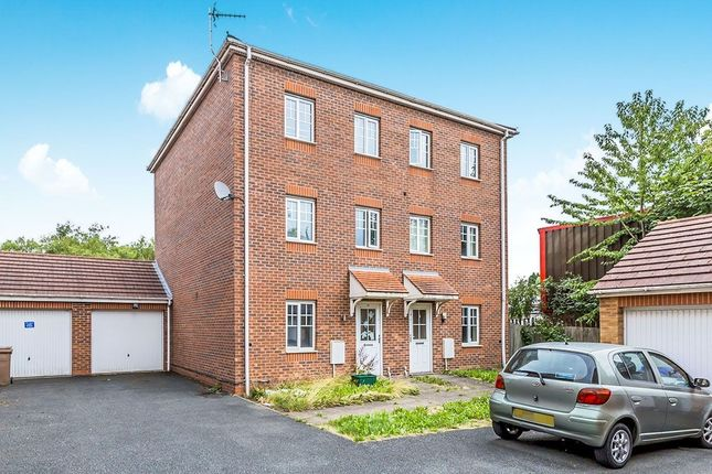 Thumbnail Semi-detached house for sale in Waterlily Close, Stoke-On-Trent