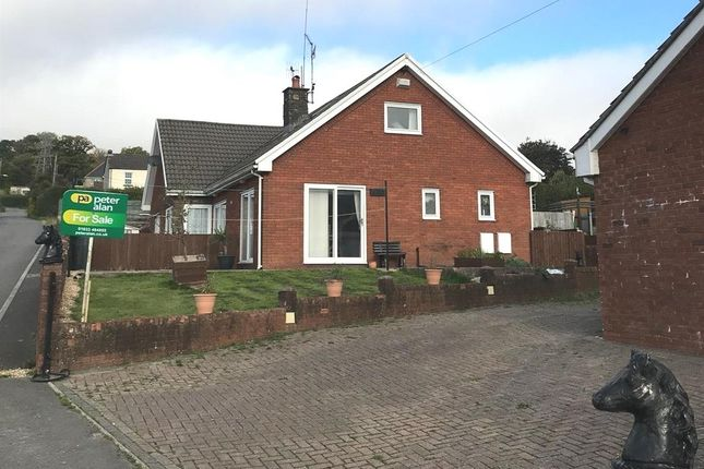 Thumbnail Detached bungalow for sale in Castlewood, Talywain, Pontypool