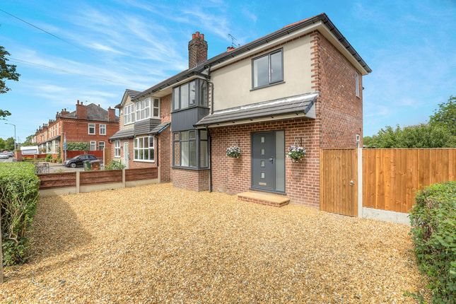 Thumbnail Semi-detached house for sale in Moorland Road, Woodsmoor, Stockport, Cheshire