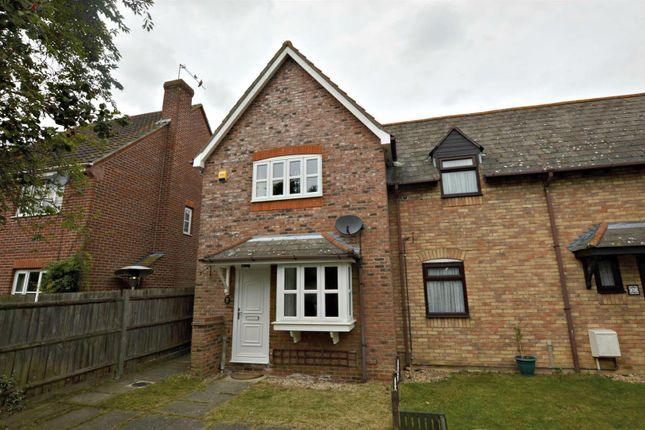 Thumbnail End terrace house for sale in Victoria Gardens, Highwoods, Colchester