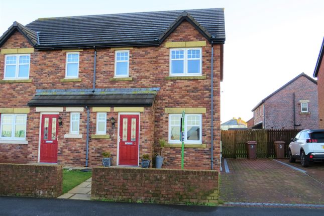3 bed semi-detached house for sale in Woodville Way, Whitehaven, Cumbria CA28