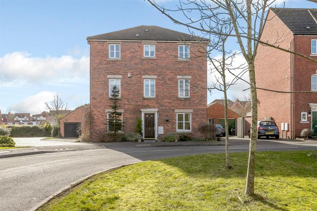 Thumbnail Detached house for sale in Costard Avenue, Heathcote, Warwick, Warwickshire