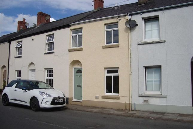 Thumbnail Terraced house to rent in Four Ash Street, Usk, Monmouthshire