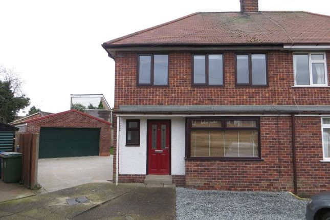 Thumbnail Semi-detached house to rent in Stewart Garth, Cottingham