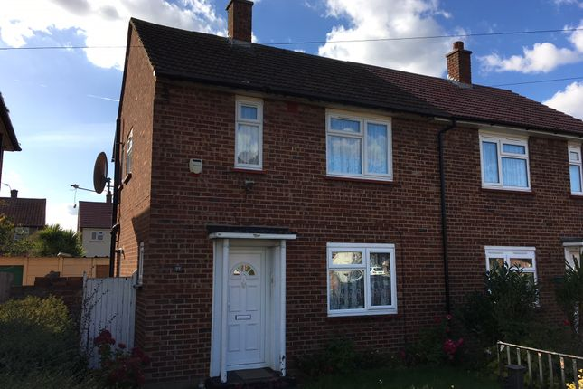 Thumbnail Semi-detached house to rent in Johnson Road, Heston, Hounslow
