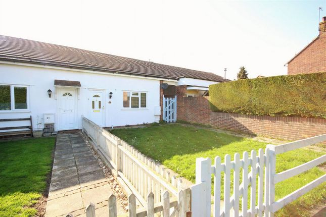 Thumbnail Terraced bungalow for sale in Domsey Bank, Marks Tey, Colchester, Essex