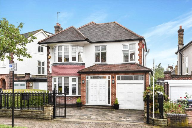 Thumbnail Detached house for sale in Ringwood Way, Winchmore Hill, London