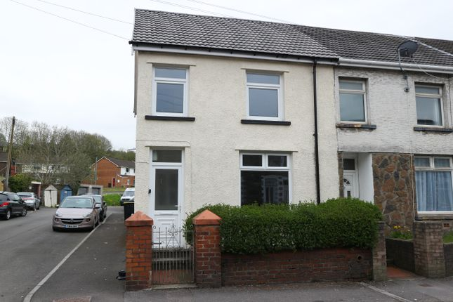 Thumbnail End terrace house for sale in Hankey Terrace, Merthyr Tydfil