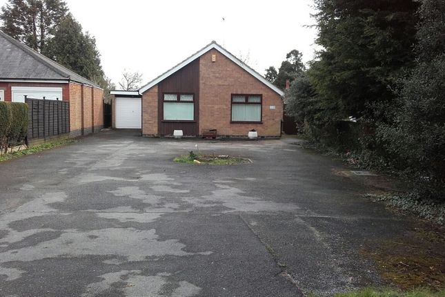 Thumbnail Detached bungalow to rent in Scraptoft Lane, Leicester