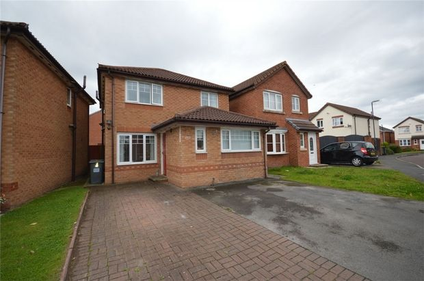 Thumbnail Detached house for sale in Masefield Close, New Ferry, Merseyside