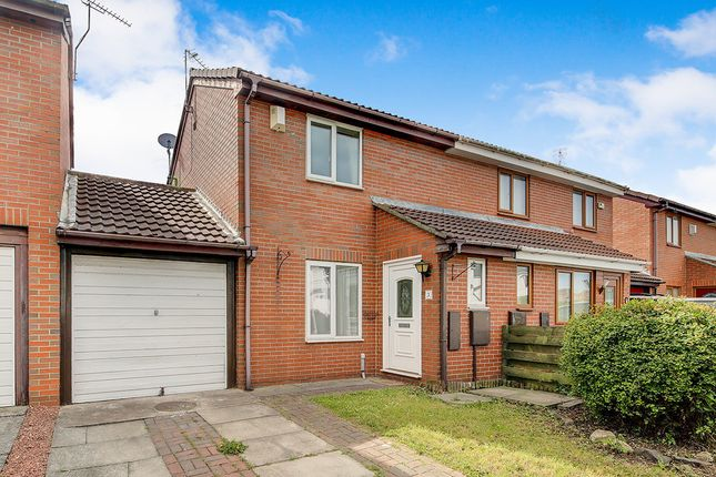 Thumbnail Semi-detached house to rent in Barras Mews, Seghill, Cramlington