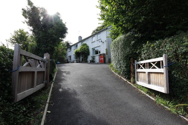Thumbnail Detached house for sale in Comins Coch, Aberystwyth