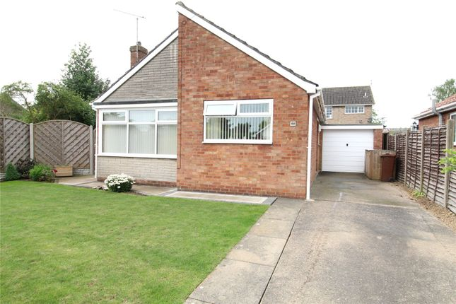 Thumbnail Bungalow for sale in Wendover Road, Messingham, North Lincolnshire