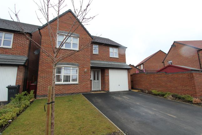 Thumbnail Detached house for sale in Burton Street, Wingerworth, Chesterfield