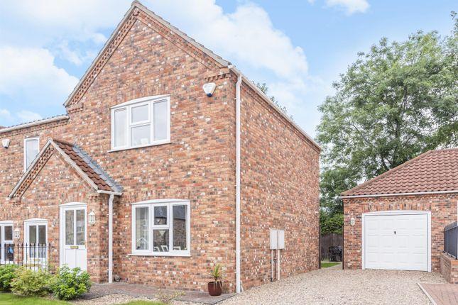 Thumbnail End terrace house for sale in Oak Tree Meadow, Horncastle, Lincs
