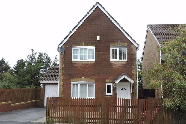 Thumbnail Detached house for sale in Cwrt Lafant, Llansamlet, Swansea