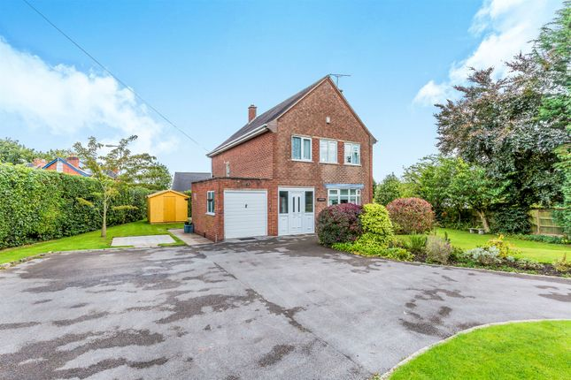 Thumbnail Detached house for sale in Sunnyside Road, Uttoxeter