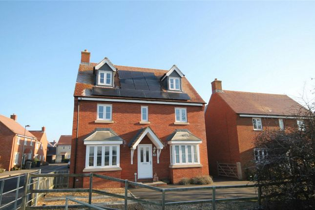 Thumbnail Detached house for sale in Bedford Road, Wixams, Bedford