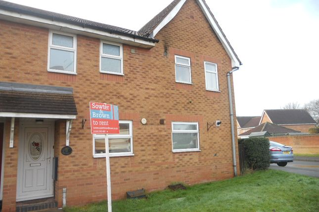 Thumbnail Town house to rent in Jubilee Court, Belper