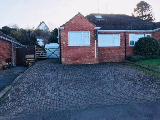 Thumbnail Bungalow for sale in Emu Close, Heath And Reach, Bedford, Bedfordshire