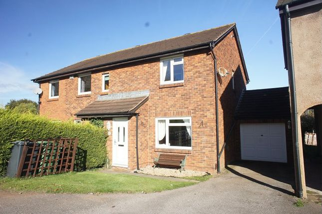 Thumbnail Semi-detached house for sale in Ashleigh, Alphington, Exeter