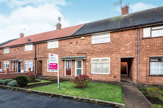 Thumbnail Town house for sale in Buckland Close, Hull
