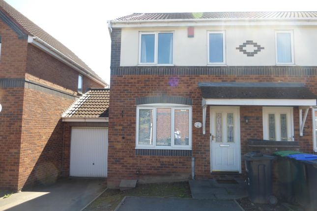 Thumbnail Semi-detached house to rent in Throstles Close, Great Barr, Birmingham