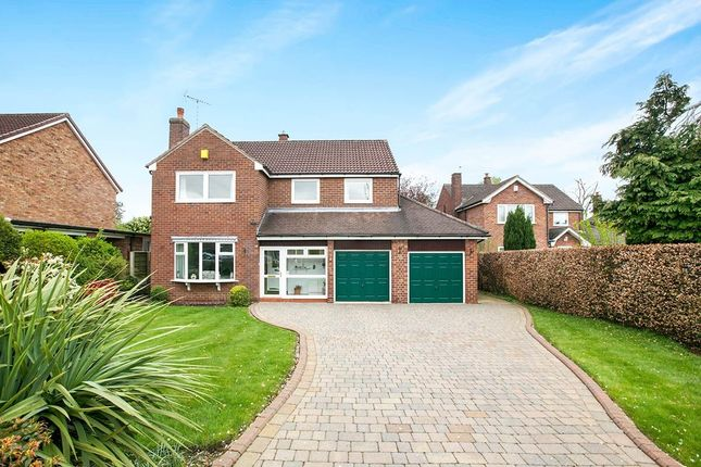 Thumbnail Detached house for sale in Marlborough Close, Tytherington, Macclesfield