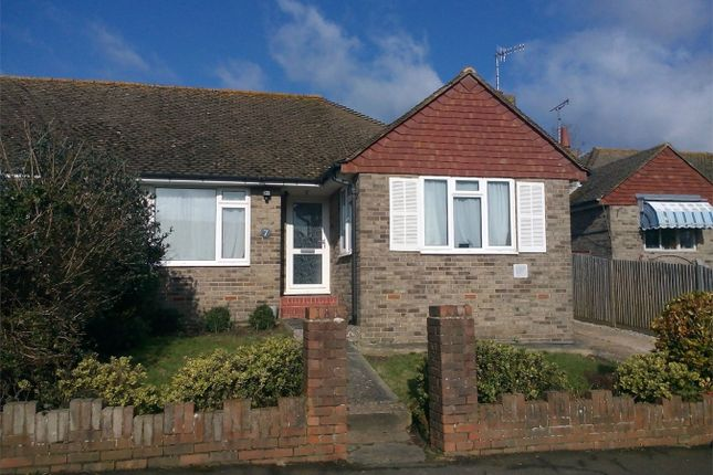 Thumbnail Semi-detached bungalow for sale in Chichester Close, Bexhill On Sea