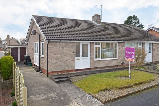Thumbnail Semi-detached bungalow to rent in Runswick Avenue, Acomb, York