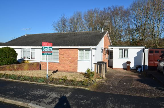 Thumbnail Semi-detached bungalow for sale in Marina Way, Tiverton