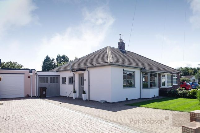 Thumbnail Semi-detached bungalow for sale in Milford Gardens, Brunton Park, Gosforth