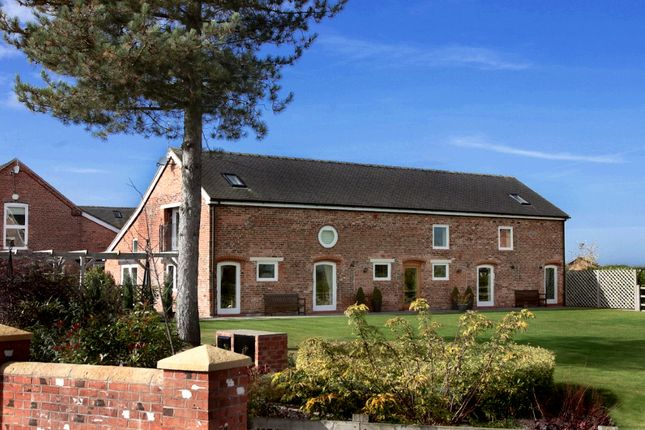 Thumbnail Barn conversion to rent in Greenfields Farm, Hunsterson, Nantwich
