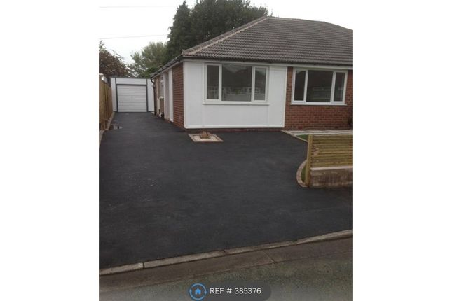 Thumbnail Bungalow to rent in Parkstone Road, Irlam, Manchester
