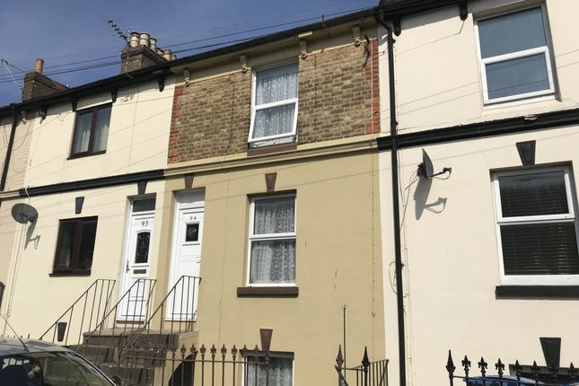 Thumbnail Terraced house to rent in Oswald Road, Dover
