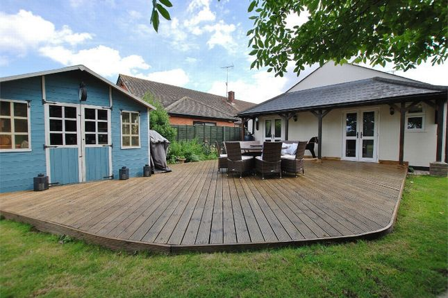 Thumbnail Detached bungalow for sale in North Lane, Marks Tey, Colchester, Essex