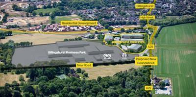 Thumbnail Light industrial to let in Billingshurst Trade Park, Stane Street, Billingshurst, West Sussex
