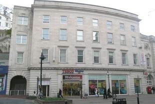 Thumbnail Flat to rent in Fleet Street, Torquay