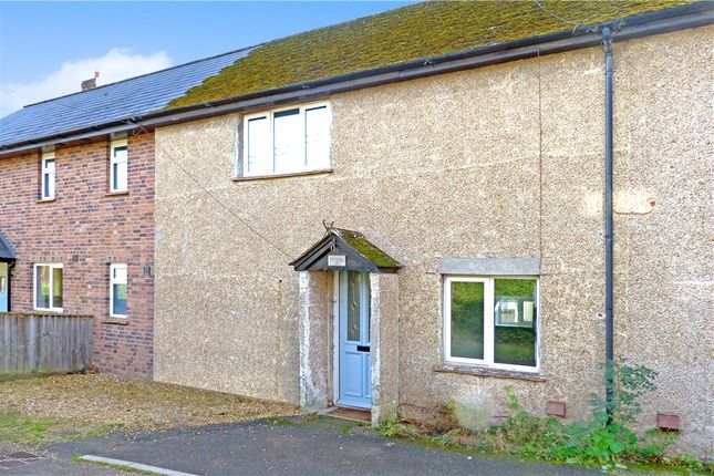 Thumbnail Terraced house for sale in Manor Farm Cottages, Gussage St. Michael, Wimborne