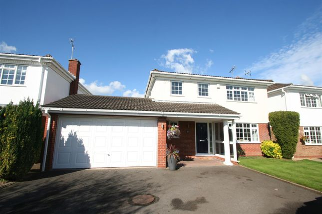 Thumbnail Detached house for sale in Frankholmes Drive, Shirley, Solihull